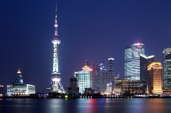 China Reise nach Shanghai